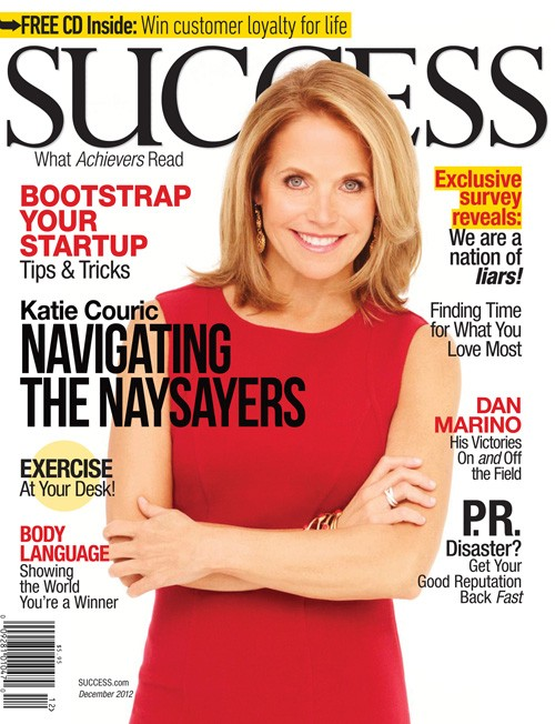 Success Magazine with Tracy Myers Katie Couric