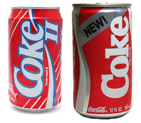 failiure of new coke essay New coke failure essay sample abstract during the 1980's coca-cola was faced with a potentially company killing problem they were losing market share quickly to their competitors.